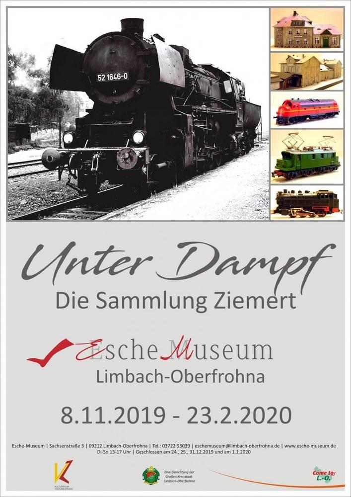 Plakat Unter Dampf final