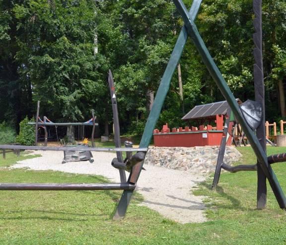 Spielplatz im Ortsteil Wolkenburg in Limbach-Oberfrohna