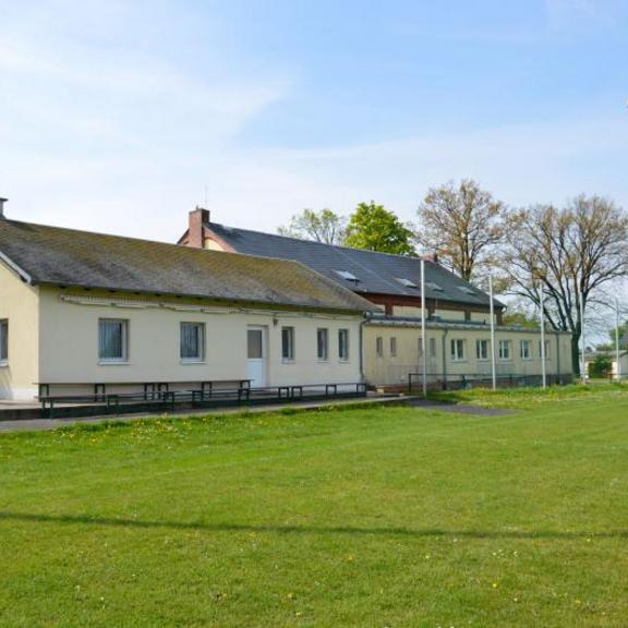 Sportplatz Rußdorf Vereins- und Sozialgebäude