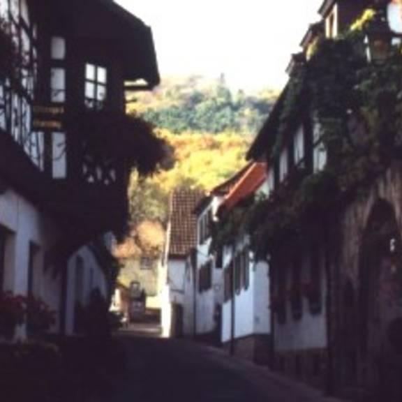 Unterhambach (Andergasse) mit dem ehemaligen bischöflichen Försterhaus